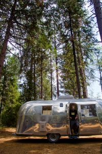 Airstream at Inn Town Campground